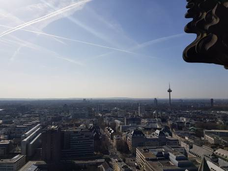 View from the top of the Cologne Dom