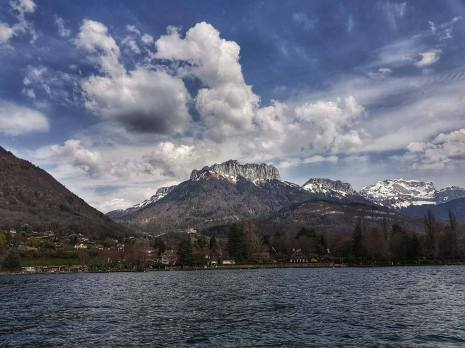 annecy mountain scenery