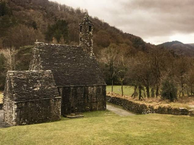 glendalough ireland ruins