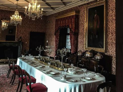 kilkenny castle dinning room