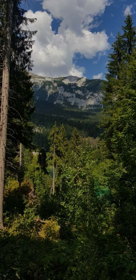 Hidden Crestasee hike to Flims